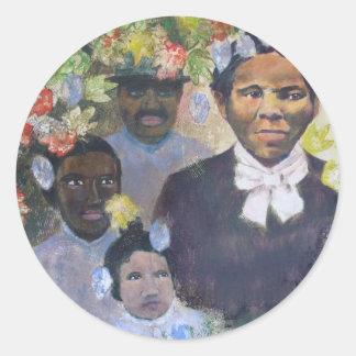 Harriet Tubman Round Sticker