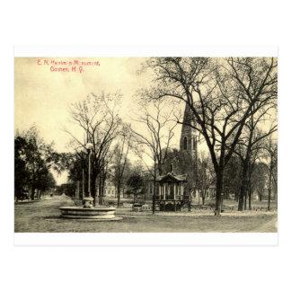Harriman Monument, Goshen NY 1916 Vintage Postcard