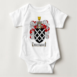 HARRINGTON FAMILY CREST -  HARRINGTON COAT OF ARMS BABY BODYSUIT