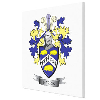 Harris Coat of Arms Canvas Print
