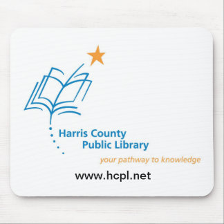 Harris County Public Library mousepad