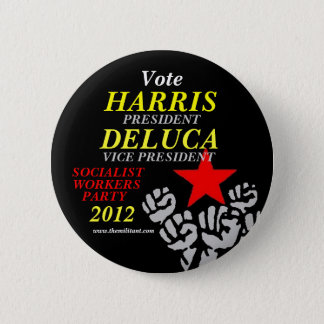 Harris-DeLuca 2012 2 Inch Round Button