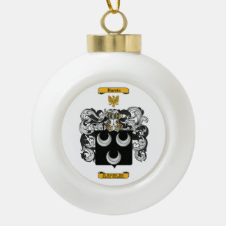 Harris (English) Ceramic Ball Christmas Ornament