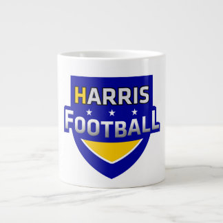 Harris Football Coffee Cup