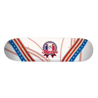 Harris, IA Custom Skateboard