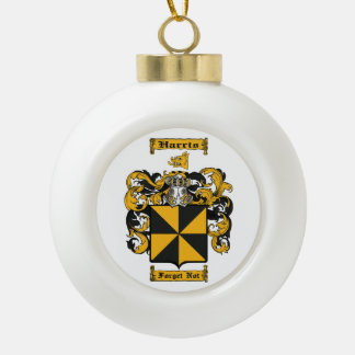 Harris (Scottish) Ceramic Ball Christmas Ornament