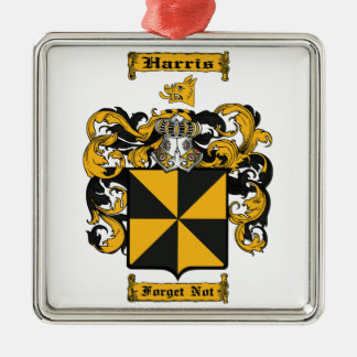 Harris (Scottish) Metal Ornament
