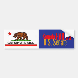 HARRIS Senate 2016 Bumper Sticker