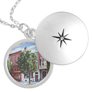 Harrisburg Pa - N Front Street Silver Plated Necklace