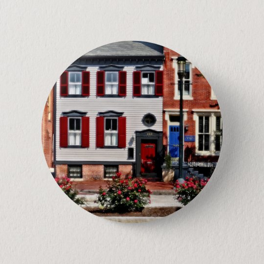 Harrisburg PA - Roses on State Street 2 Inch Round Button