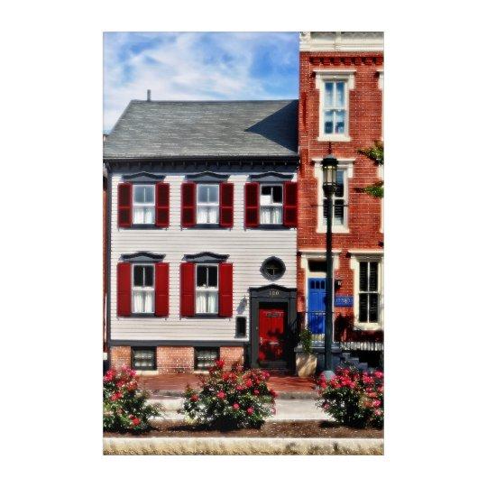 Harrisburg PA - Roses on State Street Acrylic Print