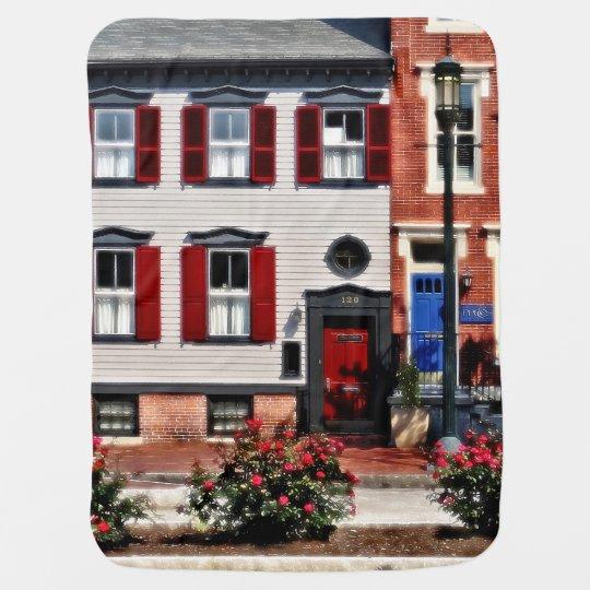 Harrisburg PA - Roses on State Street Baby Blanket