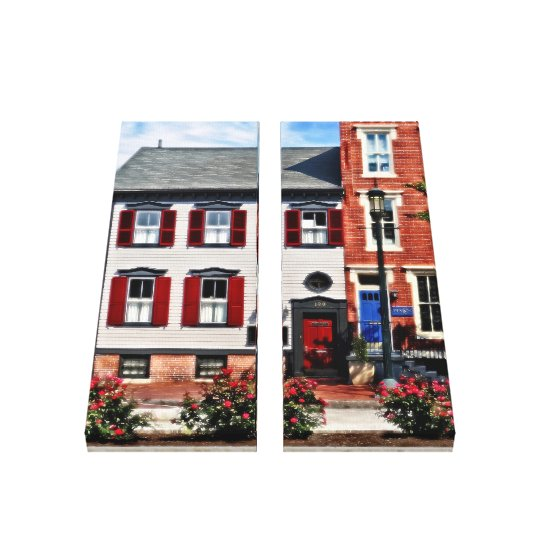 Harrisburg PA - Roses on State Street Canvas Print