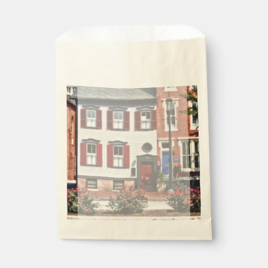 Harrisburg PA - Roses on State Street Favour Bag
