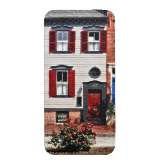Harrisburg PA - Roses on State Street iPhone Pouch