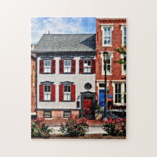 Harrisburg PA - Roses on State Street Jigsaw Puzzle