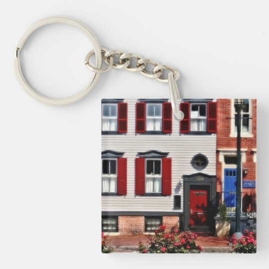 Harrisburg PA - Roses on State Street Keychain