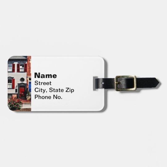Harrisburg PA - Roses on State Street Luggage Tag