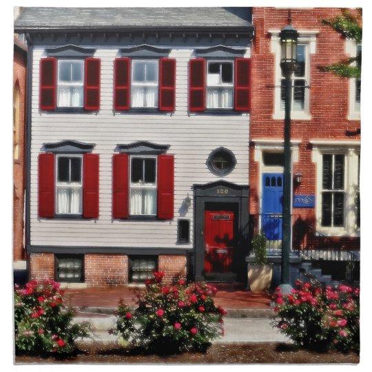 Harrisburg PA - Roses on State Street Napkin