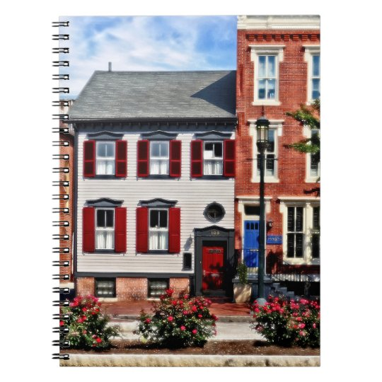 Harrisburg PA - Roses on State Street Notebooks