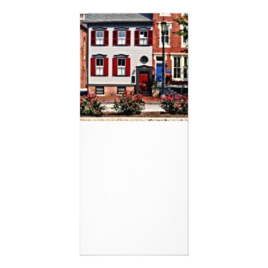 Harrisburg PA - Roses on State Street Rack Card