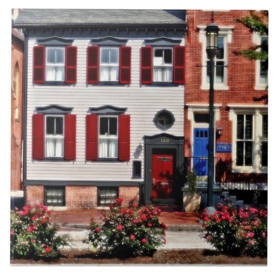 Harrisburg PA - Roses on State Street Tile