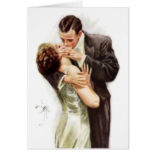 Harrison Fisher: The Kiss Card