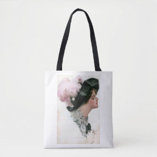 Harrison Fisher Vintage Woman Tote Bag