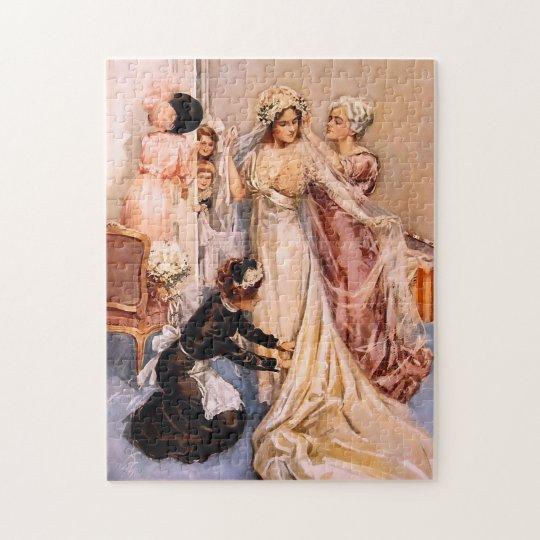 Harrison Fisher: Wedding Jigsaw Puzzle