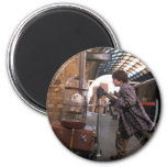 Harry and Hedwig PLATFORM 9 3/4™ 2 Inch Round Magnet