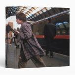 Harry and Hedwig Platform 9 3/4 3 Ring Binder