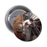 Harry and Hedwig Platform 9 3/4 2 Inch Round Button