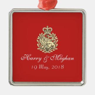 Harry and Meghan Royal Wedding Premium Ornament