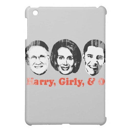 Harry, Girly, and O red Faded.png iPad Mini Covers