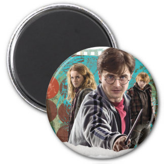 Harry, Hermione, and Ron 1 Magnet