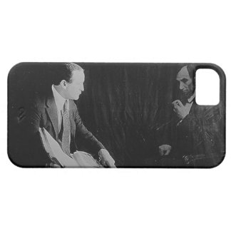 Harry Houdini and the Ghost of Abraham Lincoln iPhone 5 Cover
