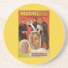 Harry Houdini, Death Defying Escape Vintage Ad Coaster