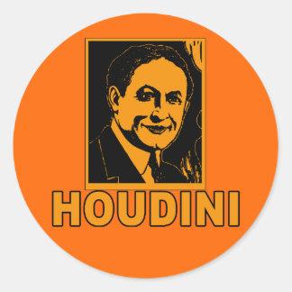 Harry Houdini Poster T shirts, Mugs, Gifts Classic Round Sticker