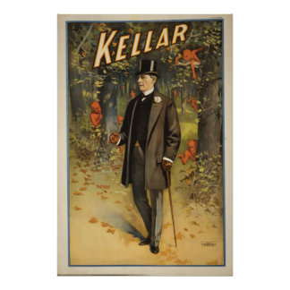 Harry Kellar Magician Advertising Poster