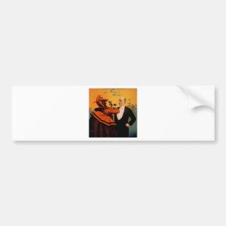 Harry Kellar Magician Closeup Bumper Sticker