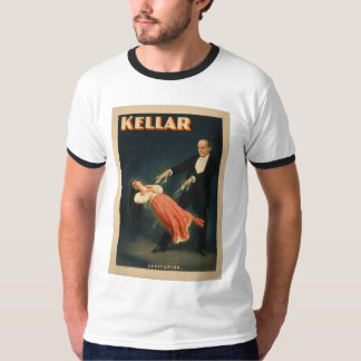 Harry Kellar performs Levitation 1895 Magic T-Shirt