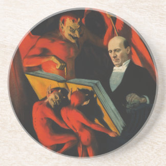 Harry Kellar Poster Coaster