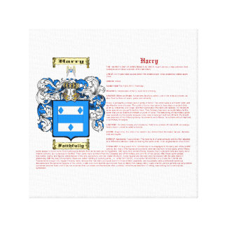 Harry (meaning) canvas print