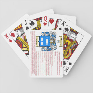 Harry (meaning) playing cards