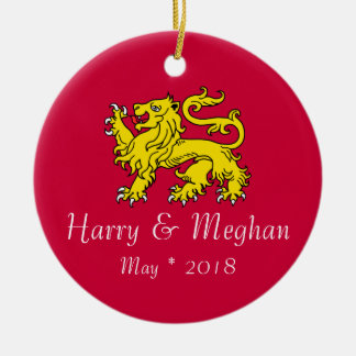 Harry & Meghan Commemorative Ornament