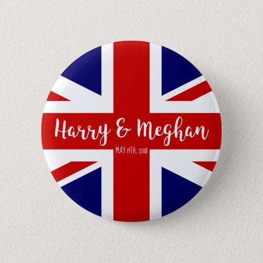 Harry & Meghan | Royal Wedding Commemoration 2 Inch Round Button