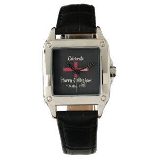 Harry & Meghan Royal Wedding Mod Wrist Watch