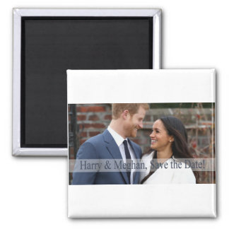 Harry & Meghan, Save the Date! Magnet