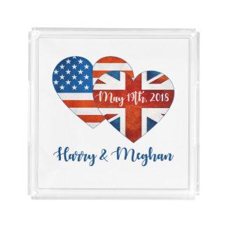 Harry & Meghan Wedding, May 19th 2018 Acrylic Tray