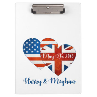 Harry & Meghan Wedding, May 19th 2018 Clipboard